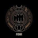 Monk - Gold by Yaniir