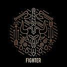 Fighter - Gold by Yaniir