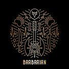 Barbarian - Gold by Yaniir