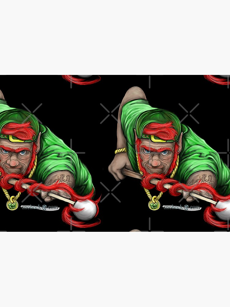 Lucky Leprechaun Shooting Pool by snohock