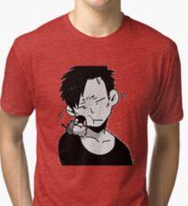 Nicolas brown - Gangsta Tri-blend T-Shirt