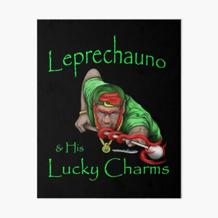 Leprechauno and His Lucky Charms Art Board Print