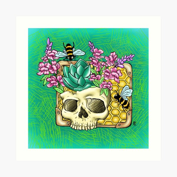 Give me bees or give me death  Art Print