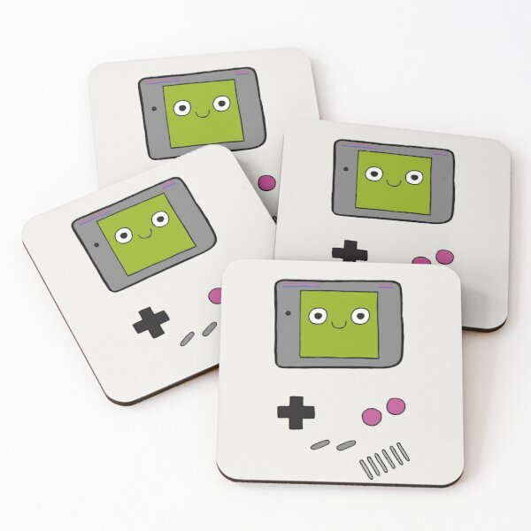 Retro Gameboy Character Coasters (Set of 4)