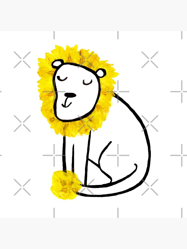 Laburnum Lion by travellingquill