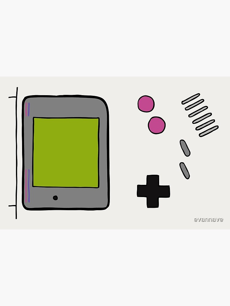 Retro Game Boy by evannave