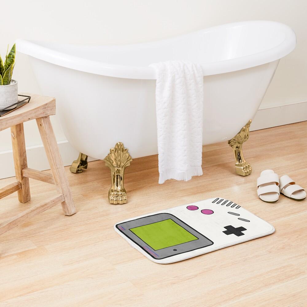 Retro Game Boy Bath Mat