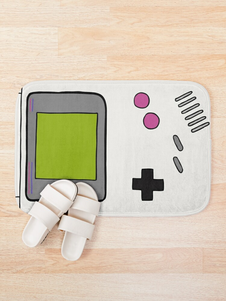 Alternate view of Retro Game Boy Bath Mat