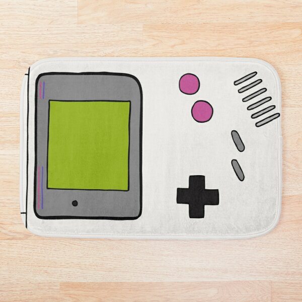 Retro Game Boy Bath Mat