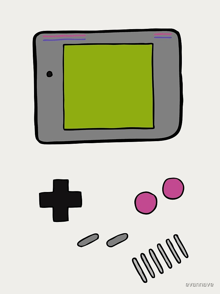 Retro Game Boy by evannave