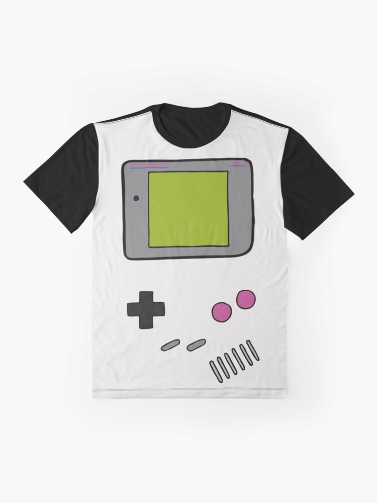 Alternate view of Retro Game Boy Graphic T-Shirt