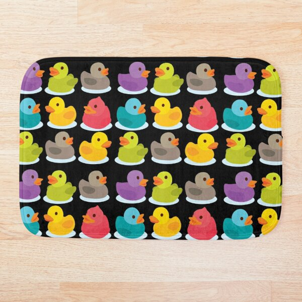 Duck Duck Go! Oh no, ducks everywhere! Bath Mat