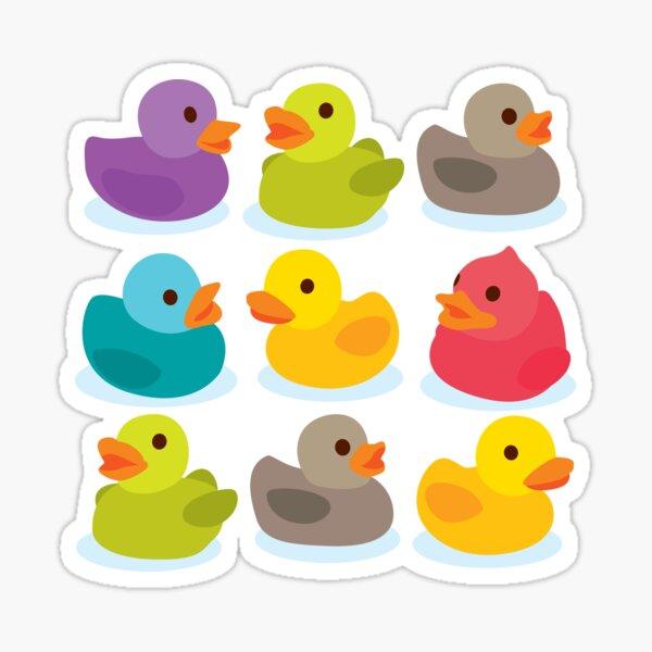 Duck Duck Go! Oh no, ducks everywhere! Sticker