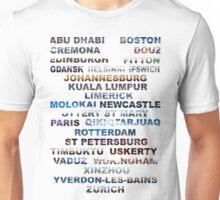 Abu Dhabi To Zurich  Unisex T-Shirt
