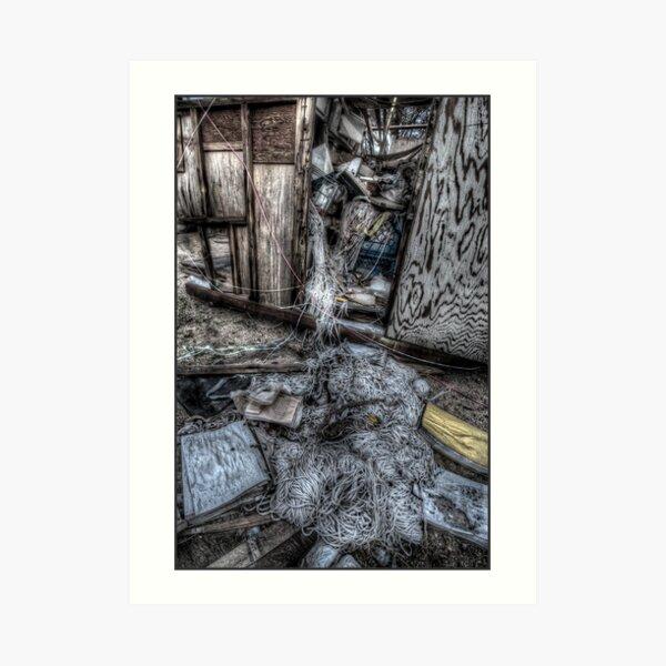 Strung-out Art Print