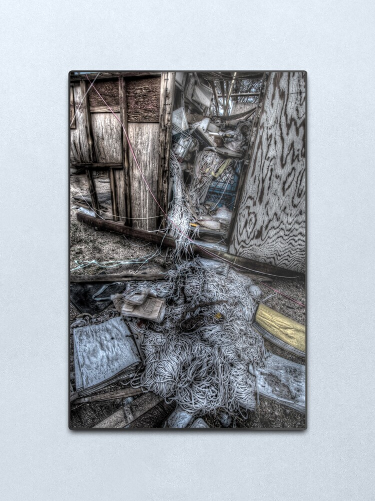 Alternate view of Strung-out Metal Print