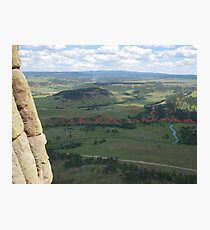 devils tower Photographic Print