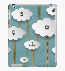 Background With Clouds iPad Case/Skin
