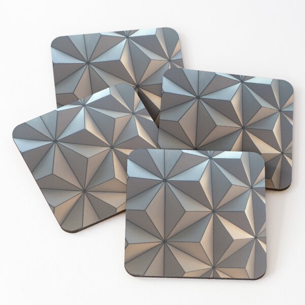 Spaceship Earth Coasters (Set of 4)