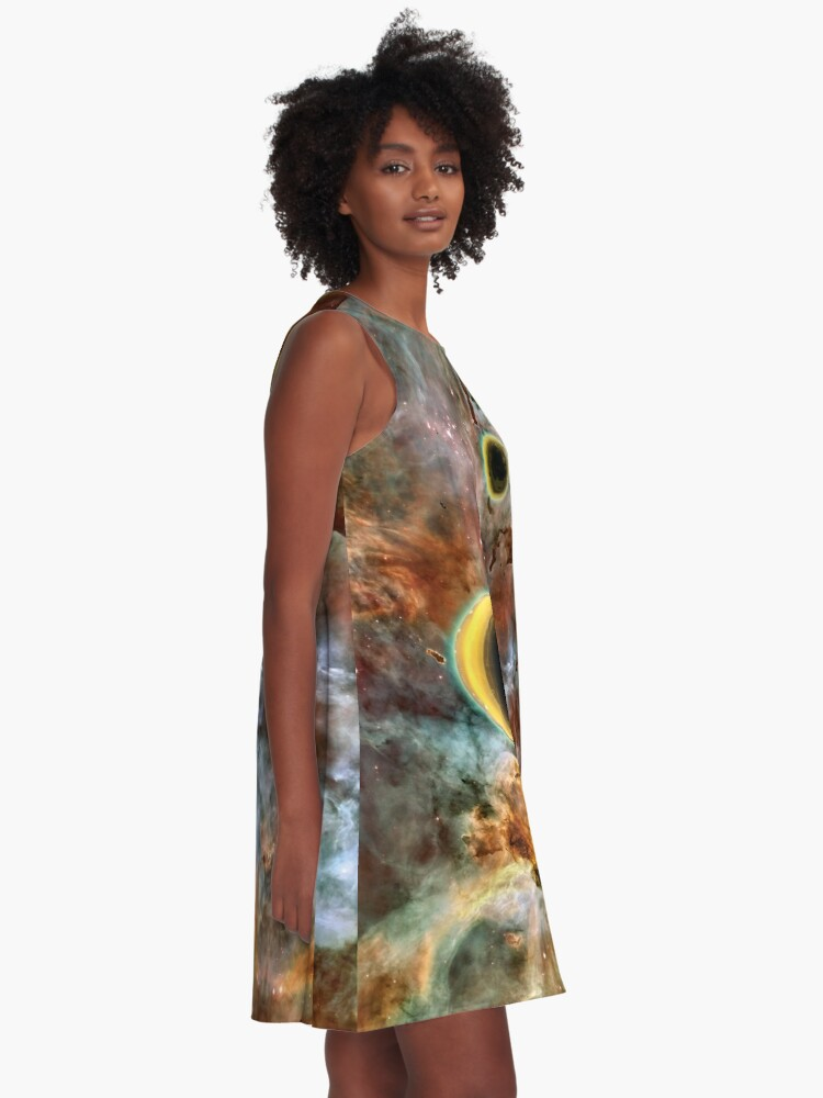 Alternate view of Crescent Mead Moons A-Line Dress