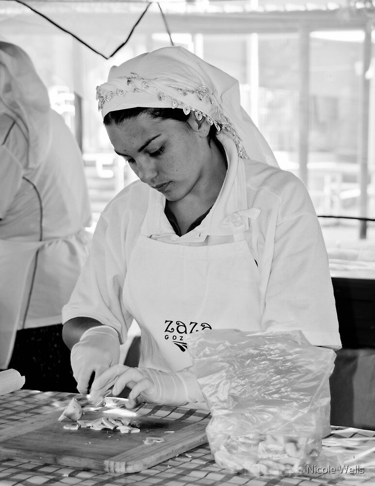 Food preparation by Nicole Wells