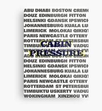 Cabin Pressure Metal Print
