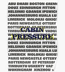 Cabin Pressure Poster