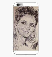 HALLE BERRY PORTRAIT iPhone Case