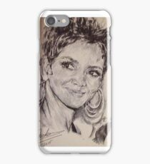 HALLE BERRY PORTRAIT iPhone Case/Skin