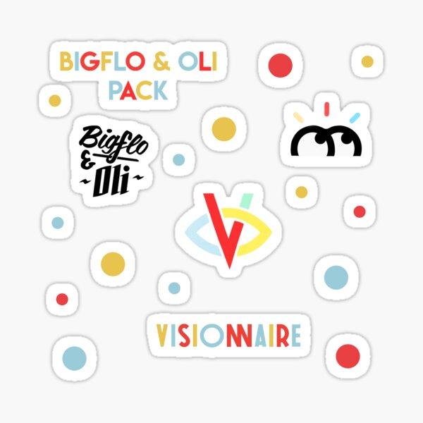 Pack autocollants Bigflo & Oli Sticker