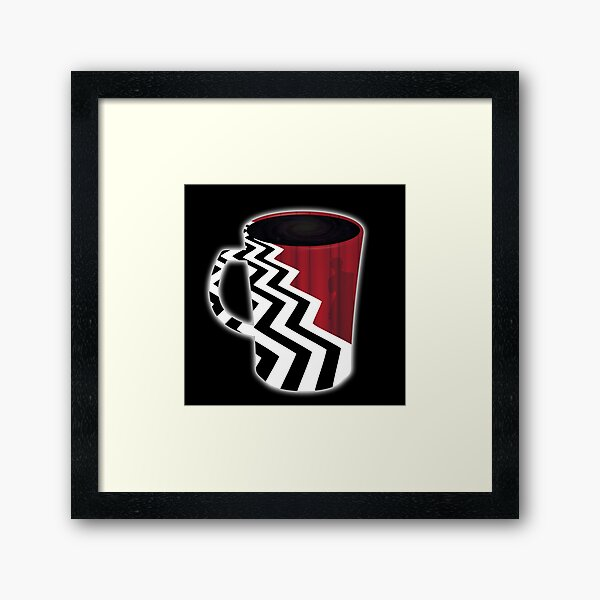 Twin Peaks Red Room Coffee Framed Art Print