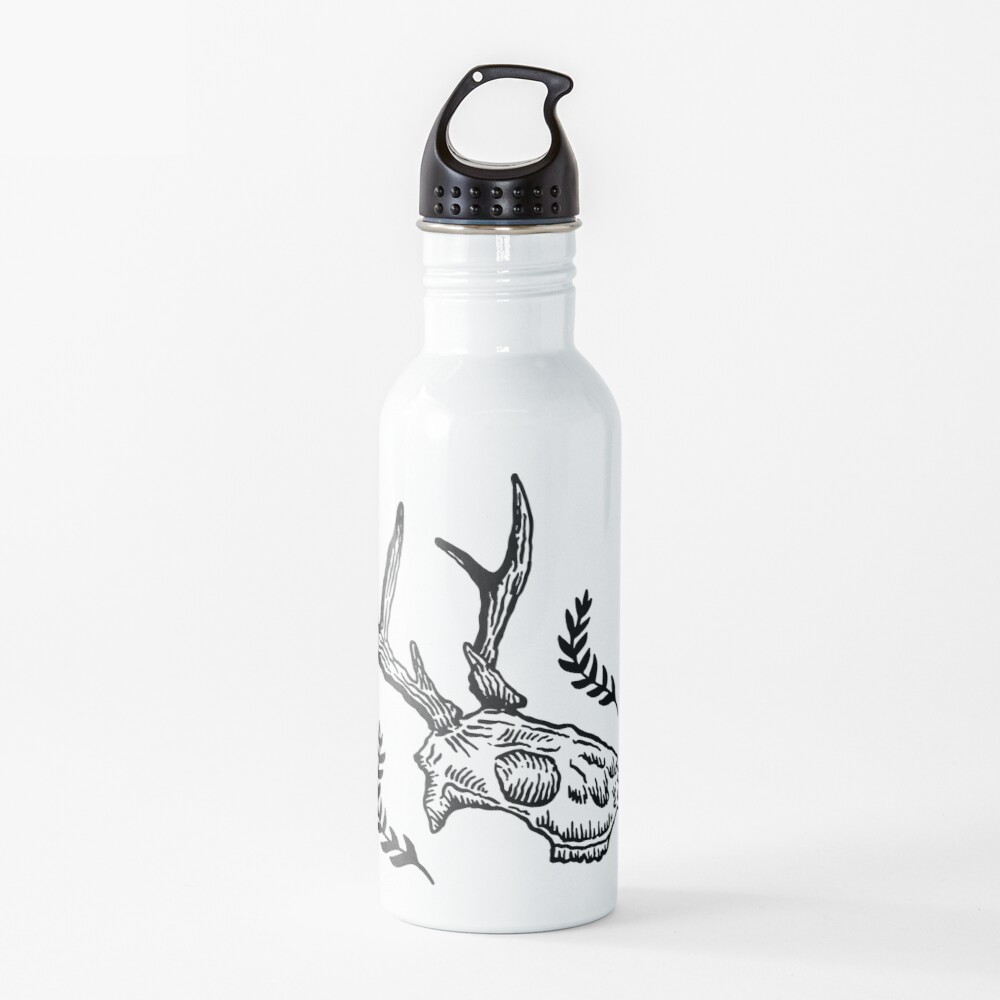 Deer Skull Water Bottle