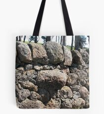 Rock Wall near Cressy, Victoria Tote Bag