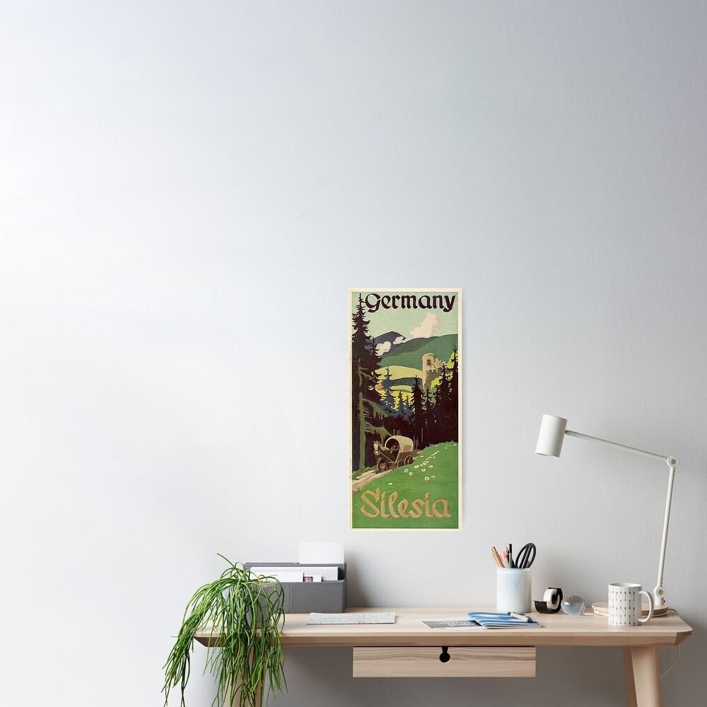 Schlesien...Silesia Poster