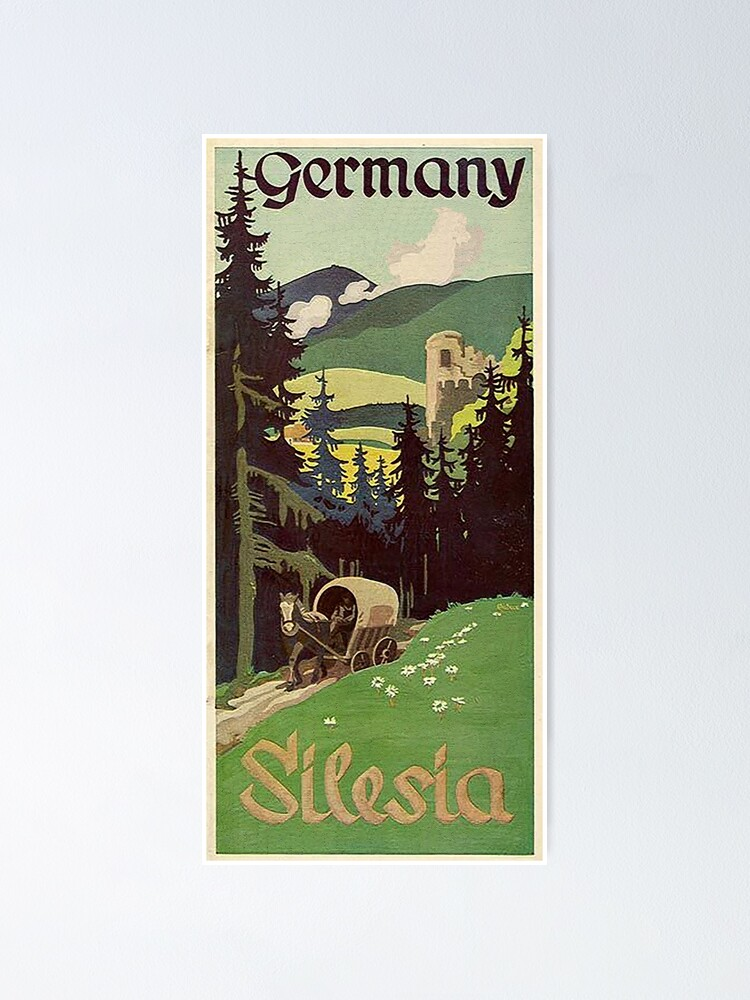 Alternate view of Schlesien...Silesia Poster