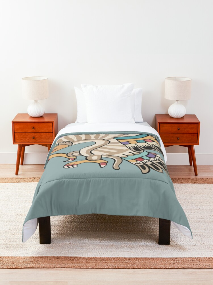 Alternate view of Eagle Comforter