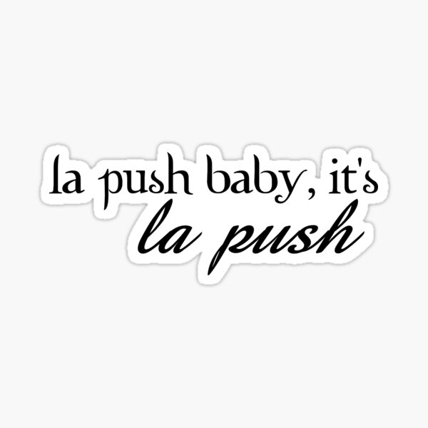 la push baby Sticker