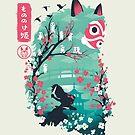 «Ukiyo e Princess» de Dan Elijah Fajardo