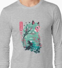 Ukiyo e Princess Long Sleeve T-Shirt