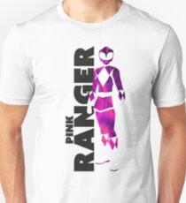 MMPR Pink Ranger Print Unisex T-Shirt