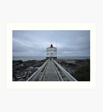 bluff lighthouse Art Print