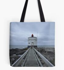 bluff lighthouse Tote Bag