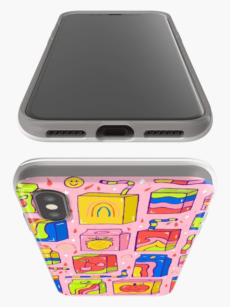Alternate view of Juice Box Print iPhone Case & Cover