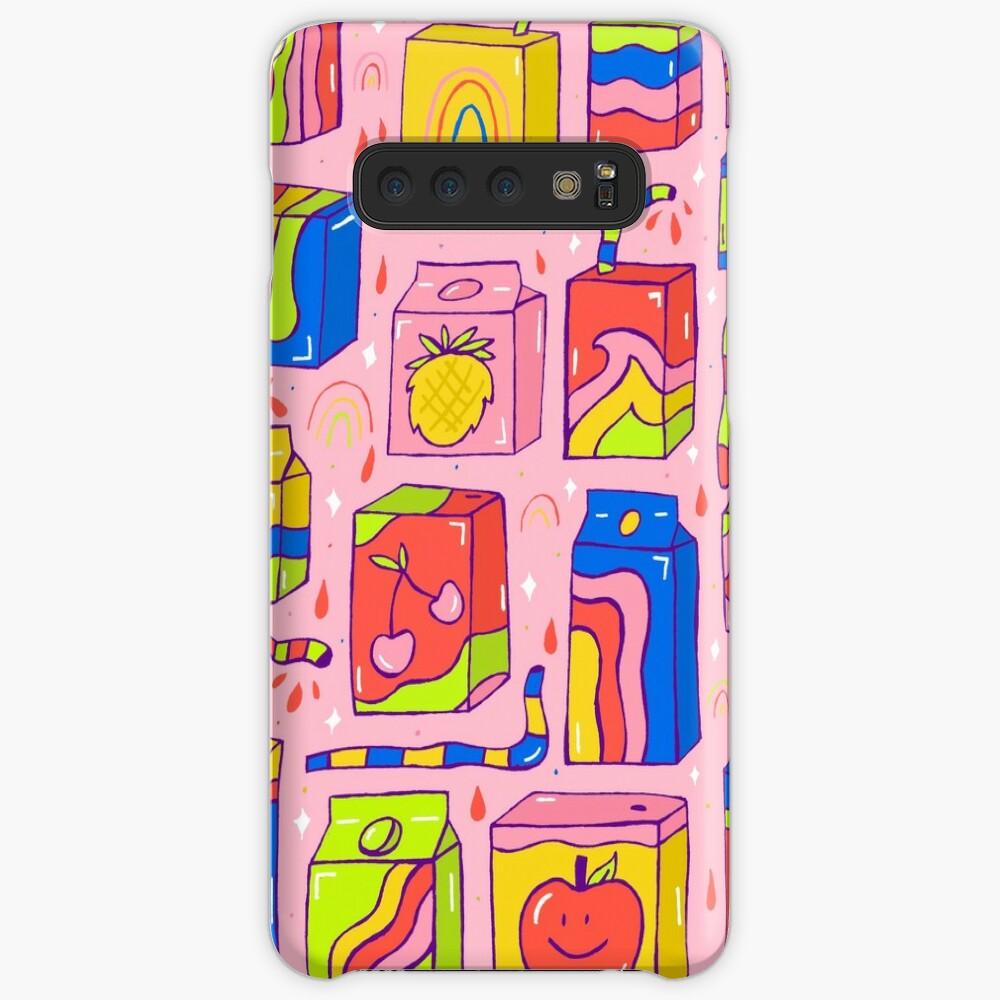 Juice Box Print Case & Skin for Samsung Galaxy