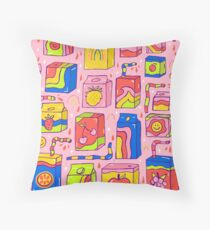 Juice Box Print Floor Pillow