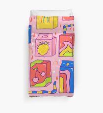 Juice Box Print Duvet Cover