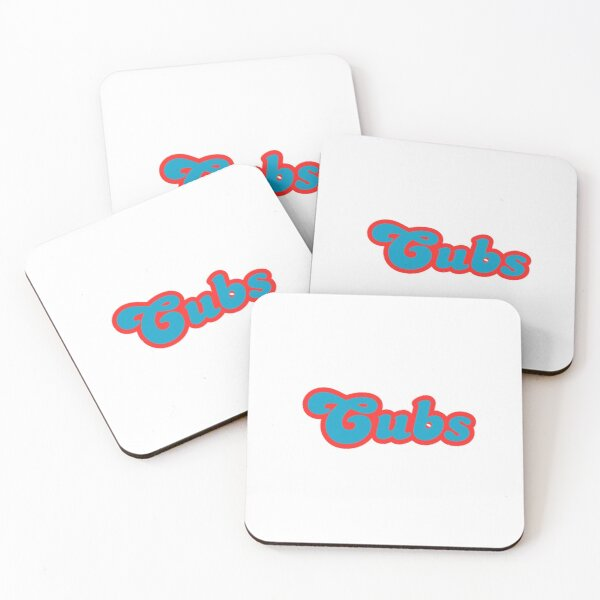 Cubs  Coasters (Set of 4)