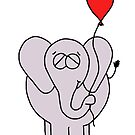 The Elephant And His Balloon by Adrienne Body