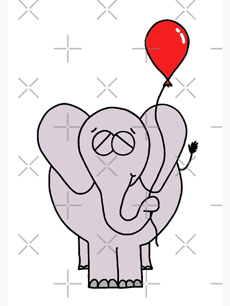The Elephant And His Balloon by AdrienneBody