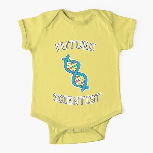 Future Scientist Short Sleeve Baby One-Piece